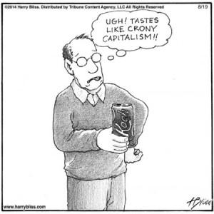 Tastes Like Crony Capitalism